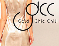 Logo Gold Chic Chili | brand identity