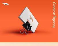 Foxy Art's business card