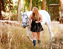 A Girl and Her Horse, Friends Forever...