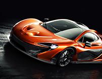 McLaren P1 - Bright orange