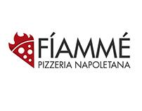 Fíammé Pizzeria branding
