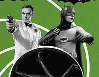 James Bond and Batman