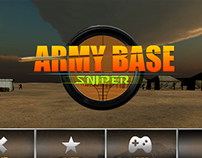 Army base shooter menus