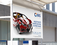 BAS - Insurance Parking Lot Outdoor Campaign