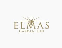 Elmas Garden Inn Logo & Identity