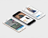 Swanky iPhone App (Interactive Mockup)