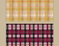 Softly Plaids Pattern