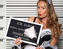 Money, Murder & Mayhem Dinner show teaser photos
