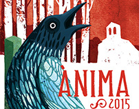 Illustrations and design for Ànima music festival 2015