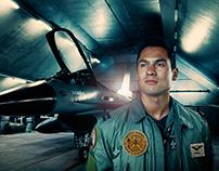F16 Pilot 'Leader'