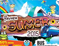 Yavneh Summer Camp Flyer Design