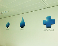 Non-Stop Recruitment Office Branding