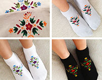 Textile Design for SUVA Sock Factory