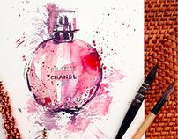 Splash! Watercolor perfume