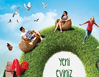A Poster Design for Asma Bahçeler Houses