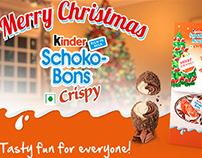 Kinder Schoko-Bons Crispy Christmas Tag