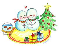 Custom Holiday Greeting Cards 2014