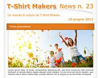 T-Shirt Makers - Newsletter