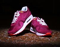 Nike Air Max 1 Barcelona iD aka Poor Man's Cherry Wood'