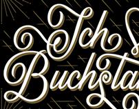 Buchstabenmuseum Postcard series