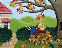 Memories of Autumn -PaperArt
