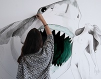 Wall Art - Sharks