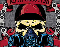 AntiPollution Bike Crew Logo