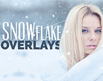 Snowflake Photo Overlays