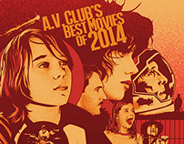 Illustration for The A.V. Club's Best Movies of 2014