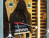 Escaparates Carhartt Christmas 2014