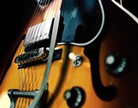 3d Gibson Guitar