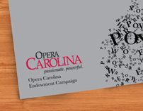 Brochure Design: Opera Carolina Endowment Campaign