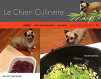 The Culinary Dog // WEB