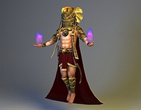 Horus - Elemental Animation