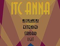 ITC Anna Typographic Poster
