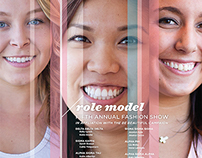 Role Model Fashion Show Poster