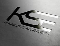 Logo Design - Kingham Signature Events