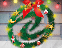 Electropar Christmas card