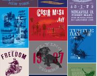 Various Men's T-shirts