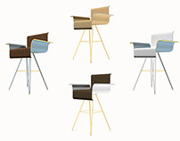 MAI Chair by Louis Iannone, Fall 2014