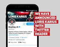 Loris Karius Twitter Header Announce