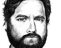 Portrait - Zach Galifianakis