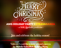 AMG Christmas Party Invite