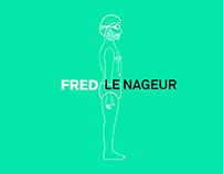 Video / Fred le nageur