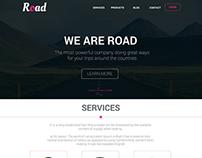 Road Project - Web Design Proccess