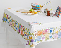 Pansy Table Cover (Nesshome)
