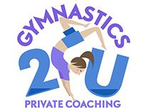 Gymnastics2U | logo design