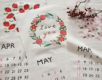 2015 Calendar (Cottonvill)