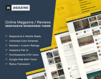 Wagazine: Magazine & Reviews Responsive WordPress Theme