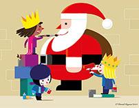 Felices fiestas y feliz año